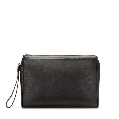 Document Bag Polo Team 8262 Black zara saffiano document wallet in black for lyst