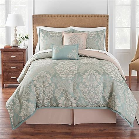 buy grand patrician 174 queen brighton comforter set in jade