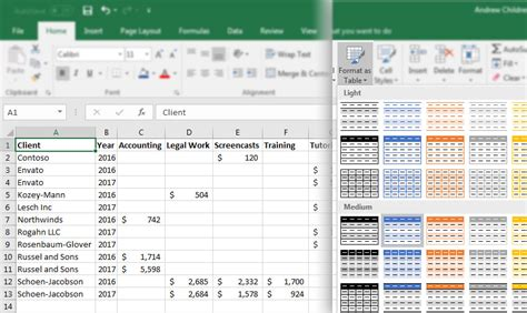 format excel as table how to convert columns to rows in excel with power query