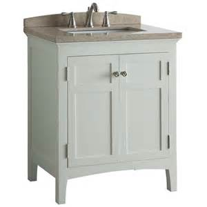 Allen Roth Bathroom Vanity Shop Allen Roth Norbury White Undermount Single Sink Poplar Bathroom Vanity With Engineered