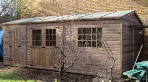 bespoke 20 x 10 garden shed by sheds unlimited