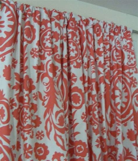 coral patterned curtains 25 best ideas about coral curtains on pinterest navy