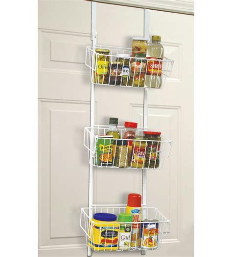 over the door storage rack with baskets over the door wire baskets in wall and door storage racks