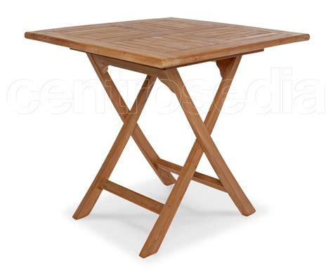 tavolo teak ambon tavolo pieghevole quadrato in legno di teak tavoli