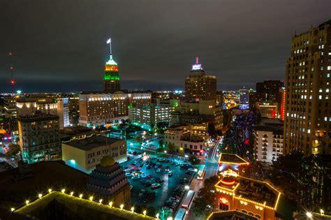 christmas usa wallpaper usa houses christmas texas street night street lights san