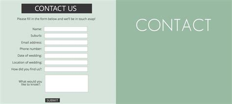 Kitchen Design Websites creating the perfect contact form pro education