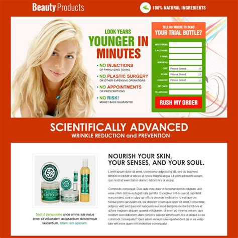 sales landing page template responsive product landing page design templates to