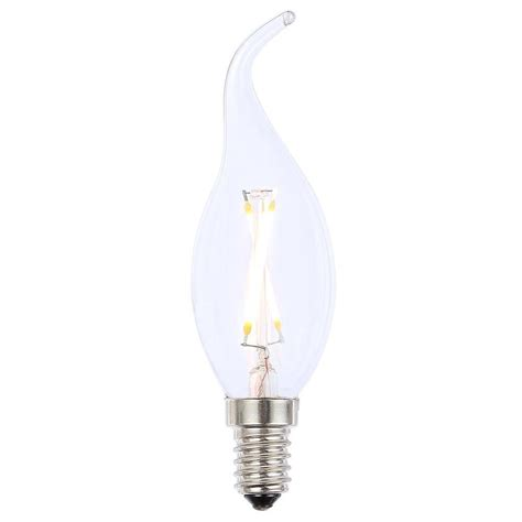 Led Clear Light Bulbs Vintage Filament 2 Watt Led E14 Small Edison Light Bulb Clear From Litecraft