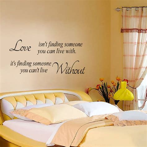 word wall stickers for bedrooms love word decal vinyl diy home room decor art wall stickers bedroom alex nld