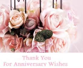 thank you messages anniversary wishes