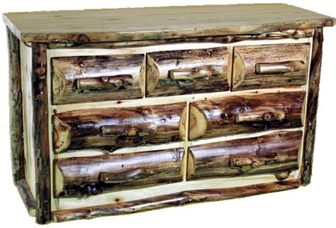 handcrafted high quality rustic aspen log furniture and