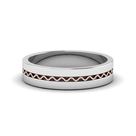 comfortable mens wedding bands square mens gold mens wedding band comfort fit ring in 950
