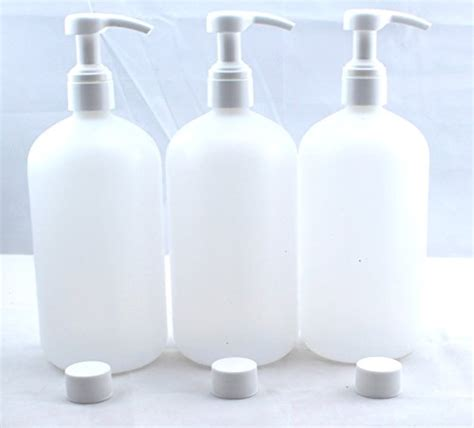 blaydessales  pack commercial grade refillable  oz plastic bottle  pump  lotion