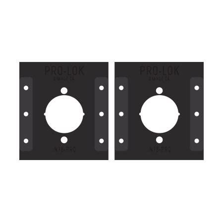 Taco Grade 1 Leverset Pro Templates Pro Lok Marks Mortise Lock Template