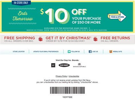 old navy coupons ca old navy 全新優惠 也文也武