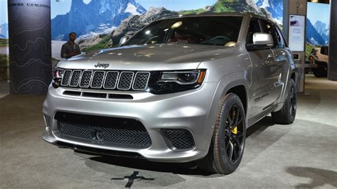 Who Makes Jeep Grand Jeep Grand Trackhawk Makes 4 Wheel Dyno Run At Debut