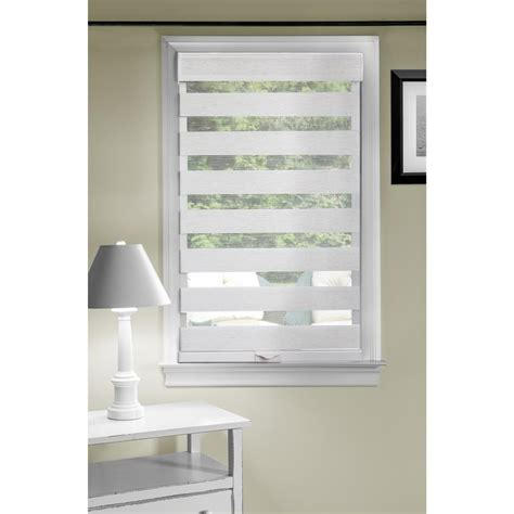 natural linen l shade home decorators collection natural multi weave bamboo