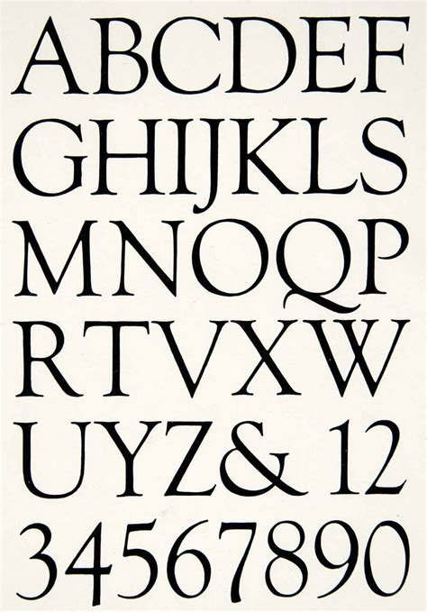 printed looking font 1928 print alphabet graphic design font typography