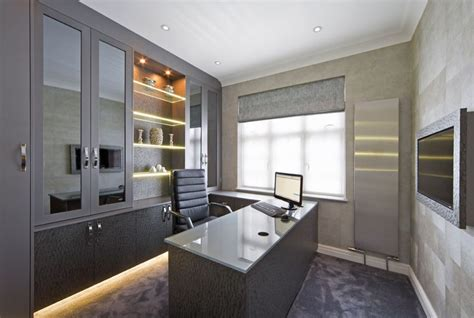 fitted home office furniture  london contemporary showroom