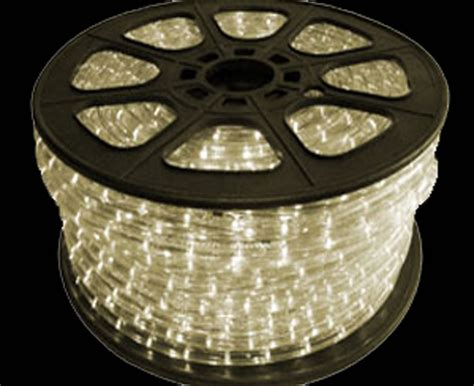 led rope light bulk spool