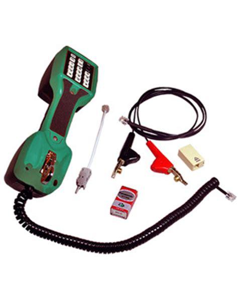 64 Pcs Mechanic Tool Set Mk 002 telemaster technicians test telephone t0111 002 linesman testing phone for technician tech