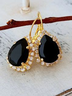 blue crystals stud earrings and navy blue on pinterest
