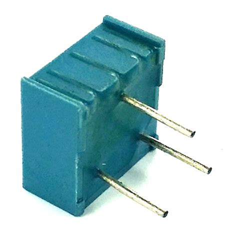 20 ohm variable resistor 20 ohm trimpot variable resistor pot3104f 1 203 3104f 1 203 west florida components
