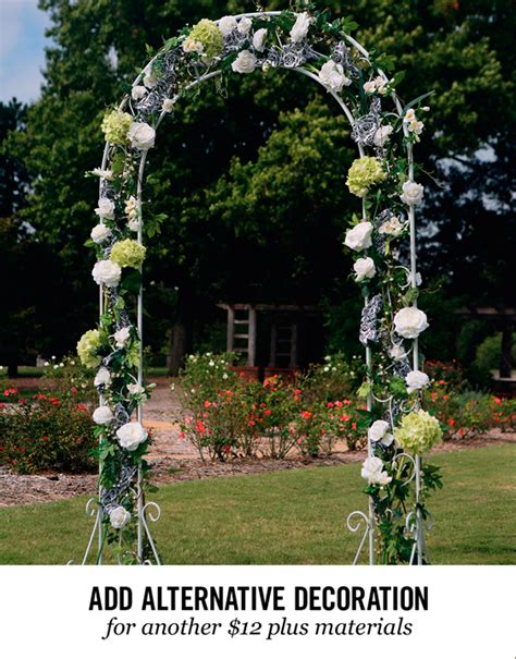 Wedding Arch Material by Wedding Rentals