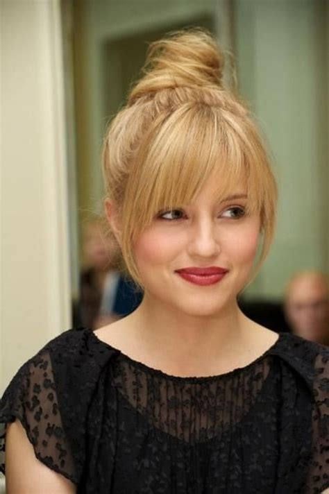 hairstyles with bangs cut straight across 1000 ideas about straight across bangs on pinterest