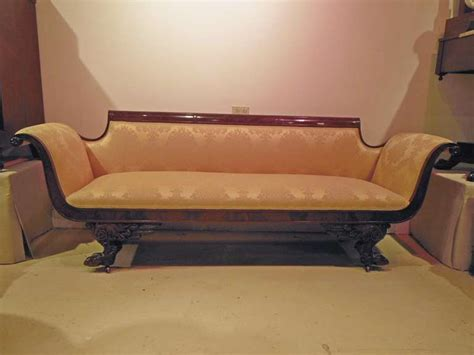 duncan phyfe sofa for sale american classical sofa attributed to duncan phyfe for