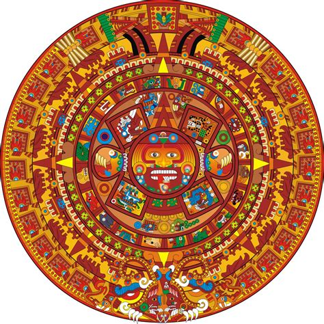 Calendario Azteca Calendario Azteca Wallpaper Imagui