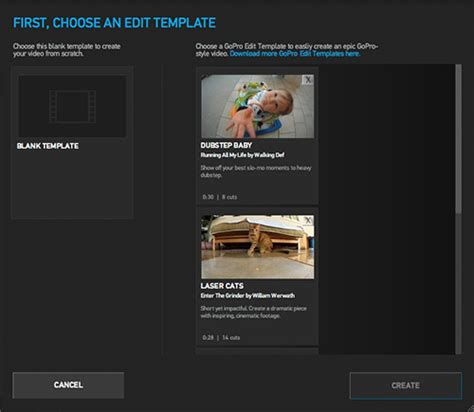 gopro studio templates out of darkness