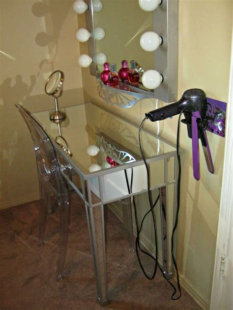 Diy Dryer And Flat Iron Holder diy hair appliance holder lynda makara