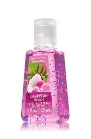 Bath And Works Pink Chiffon Anti Bacterial Pocketbac Sanitizing pink chiffon pocketbac sanitizing gel soap
