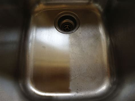 remove scratches from stainless steel scratching stainless steel sink images