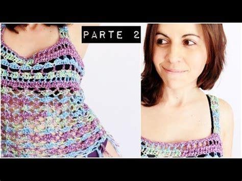 poncho laura zepeda top playero a crochet blusa tejida paso a paso english
