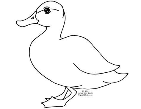 Imagenes Para Colorear Un Pato | pato 13 animales p 225 ginas para colorear