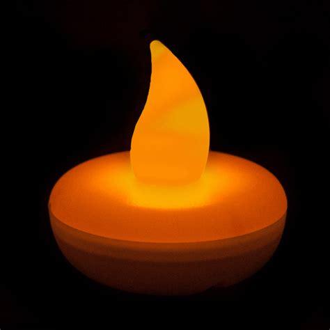 Flickering Led Lights by Flickering Orange Floating Led Light