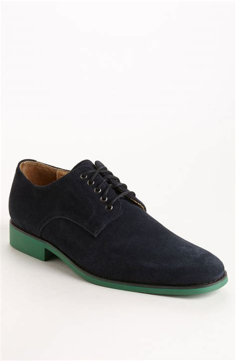 buck shoes jd fisk vincent suede buck shoe in blue for navy
