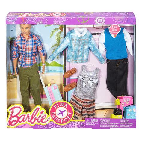 fashion doll set pink passport ken fashion doll gift set ebay