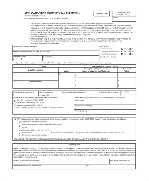 tax exemption form 10 sle tax exemption forms sle templates