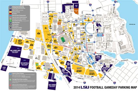lsu football parking map 2015 lsu football parking map lsusports net the