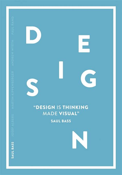 design thinking reddit design is thinking made visual saul bass on inspirationde