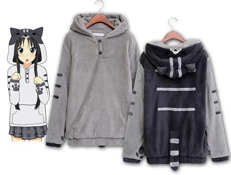 Cat Hodie Jaket anime nekoatsume kawaii cat jacket sweatshirt cospaly hoodie coat s xl aj f11 ebay