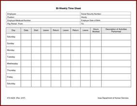 weekly timesheet template excel free download time