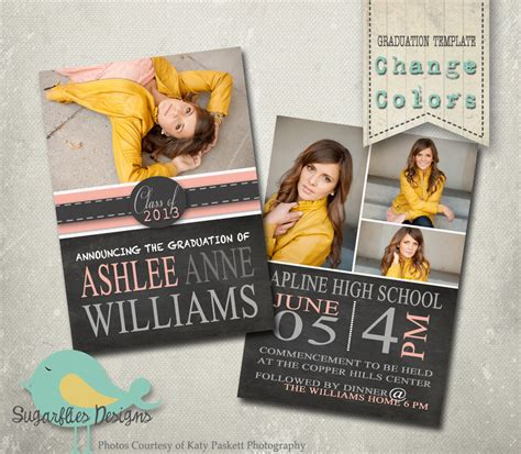 senior announcement templates graduation announcement templates senior graduation 19