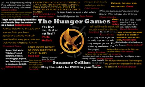 theme of the hunger games with quotes hunger games quotes quotesofhg twitter