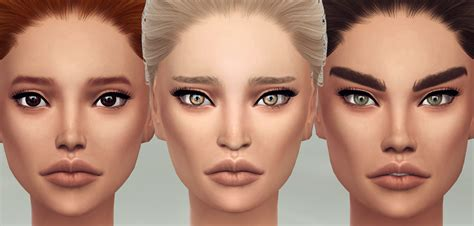 sims 4 teen skin my sims 4 blog brilliant skin for males females by s4models