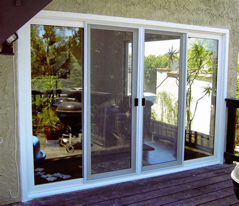Sliding Exterior Doors Best Exterior Sliding Glass Doors Reviews House That Built