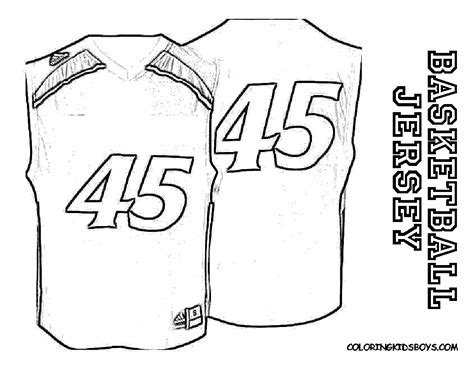nba jersey coloring pages nba jersey coloring pages coloring page